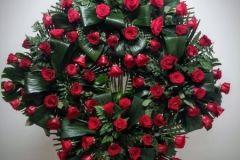 corona de 4 centros de rosas