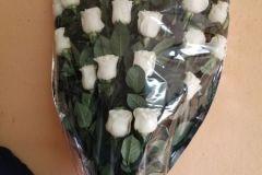 ramo de rosas funerario