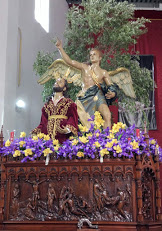 oración del huerto huercal overa flores de semana santa